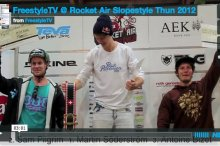 Rocket Air Slopestyle 2012 by freestyletv